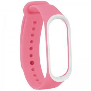 Xiaomi Ремешок для Mi Band 4/3 Pink/White  - купить