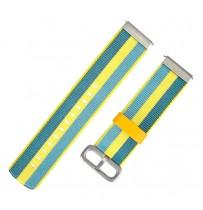Amazfit Ремешок Mi Fit нейлоновый для Bip 20mm Yellow/Blue (MF2052NYB)