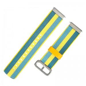 Amazfit Ремешок Mi Fit нейлоновый для Bip 20mm Yellow/Blue (MF2052NYB)  - купить