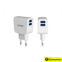 Сетевое зарядное устройство LDNIO 2 USB (2,1A)