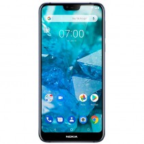 Смартфон Nokia 7.1 4/64GB Midnight blue (11CTLL01A18)