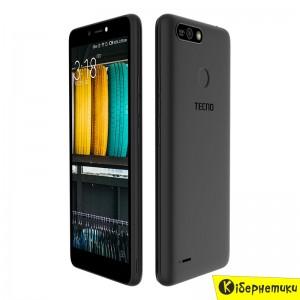Смартфон Tecno B1P DS Midnight Black
