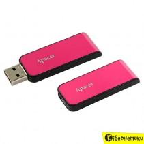 Флешка Apacer 8 GB AH334 Pink USB 2.0 (AP8GAH334P-1)
