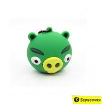 "USB флешка Dinosaur Driver Angry Birds 16Gb ""Свинюшка"""