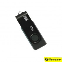 Флешка GOODRAM 32 GB Twister Clip Black (UTS2-0320KKR11)