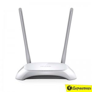 Роутер Wi-Fi TP-Link TL-WR840N 300Mbps  - купить