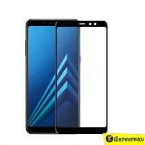 Защитное стекло 3D Armor Standart для Samsung A8+ (2018)/A730 черное