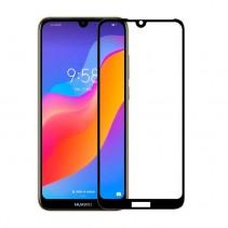 Захисне скло 3D для Huawei Y6 2019/Honor 8A/Huawei Y6s/Honor 8A Prime чорне