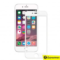 MakeFuture Защитное стекло для Apple iPhone 6 White 3D (MG3D-AI6W)