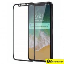 Захисне скло 3D для iPhone XS Max/11 Pro Max (чорне)