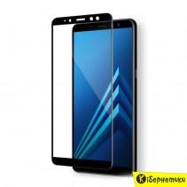 Защитное стекло 3D для Samsung A750 черный