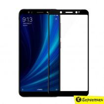Защитное стекло 3D для Xiaomi MiA2/Mi6x (черное)