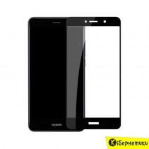 Защитное стекло Full Screen для Huawei Y6 2018 черное