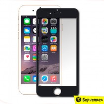 Защитное стекло Honor Full Screen для iPhone 7+ (черное)