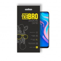 Захисне скло ZeBro 3D для Huawei P Smart Z/Honor 9X/Huawei P Smart Pro  чорне
