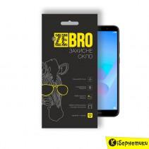 Защитное стекло ZeBro 3D для Huawei Y6 2018 black