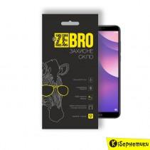 Защитное стекло ZeBro 3D для Huawei Y7 2018 / Honor 7C Black