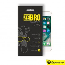 Защитное стекло 3D ZeBro для iPhone 7 Gold