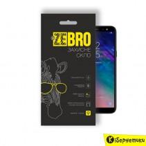 Защитное стекло 3D ZeBro для Samsung A6 Plus 2018 A605 Black