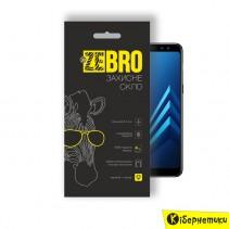 Защитное стекло ZeBro 3D для Samsung A8 Plus 2018 A730 Black