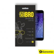 Защитное стекло 3D ZeBro для Samsung J4 2018 J400 Black