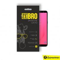 Защитное стекло 3D ZeBro для Samsung J8 2018 J800 Black