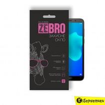 Защитное стекло ZeBro Full Screen для Huawei Y5 2018 Black