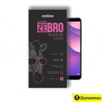 Защитное стекло ZeBro Full Screen для Huawei Y7 2018/Honor 7C Black