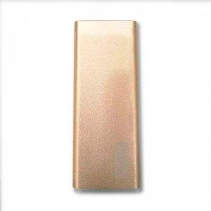 Аккумулятор портативный Power bank ZeBro 10000 mAh (2,4A 1USB) (золотой)  - купить