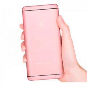 Аккумулятор портативный PowerBank Hoco UPB03 i6 12000 mAh Розово-золотой