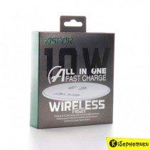 Безпроводное зарядное устройство Aspor Wireless A521 (5V/2A) черный