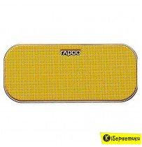 Колонки RAPOO A500 bluetooth 4.0, желтые