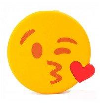 """Power bank Emoji """"Воздушный поцелуй"""" 15000mAh"""