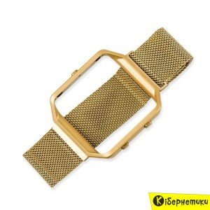 Ремешок для Amazfit Bip Metal Gold  - купить