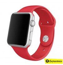 Ремешок Apple Watch Sport Band 42/44mm Red