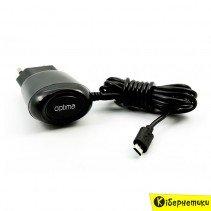 Сетевое зарядное устройство Optima micro USB 500 mAh