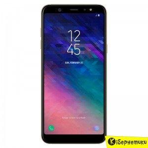 Смартфон Samsung Galaxy A6+ (2018) A605 Gold (SM-A605FZDNSEK)  - купить