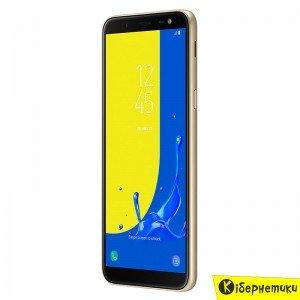 Смартфон Samsung Galaxy J6 2018 Gold (SM-J600FZDDSEK)