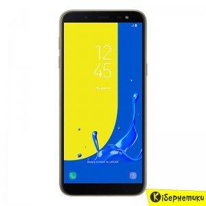 Смартфон Samsung Galaxy J6 2018 Gold (SM-J600FZDDSEK)  - купить