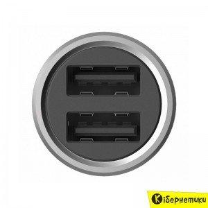 Автомобильное зарядное устройство Xiaomi Car Charger Silver 1154400043