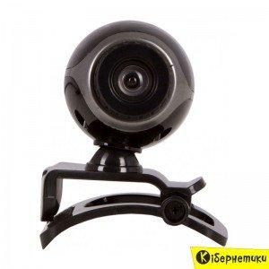 Веб-камера Trust Exis webcam Black-Silver (17003)  - купить