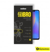 Защитное стекло ZeBro 3D для Huawei P Smart Plus черное