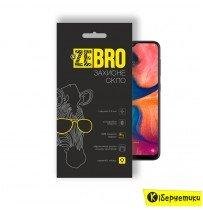 Защитное стекло ZeBro 3D для Samsung A20 2019 черное