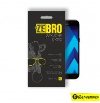 Защитное стекло ZeBro 3D для Samsung A7 2017 A720 Black