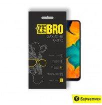 Защитное стекло ZeBro 3D для Samsung A30 2019 (A305) / A50 2019 (A505) черное