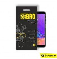 Защитное стекло ZeBro 3D для Samsung A7 2018 A750 черное