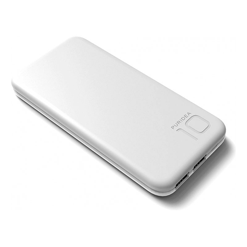 Внешний аккумулятор (Power Bank) Puridea S2 10000mAh Li-Pol Grey/White (S2-Grey White)