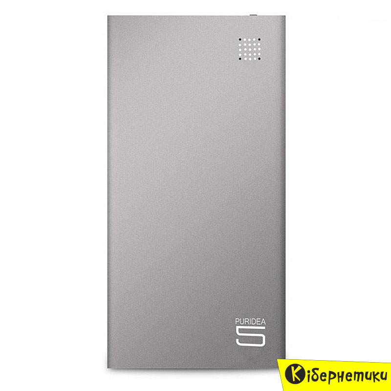 Внешний аккумулятор (Power Bank) Puridea S7 5000mAh Li-Pol Grey (S7-Grey)