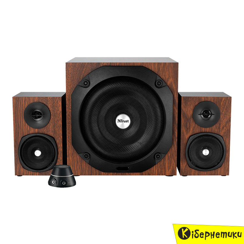 Мультимедийная акустика Trust Vigor 2.1 Subwoofer Speaker Set Brown (20244)