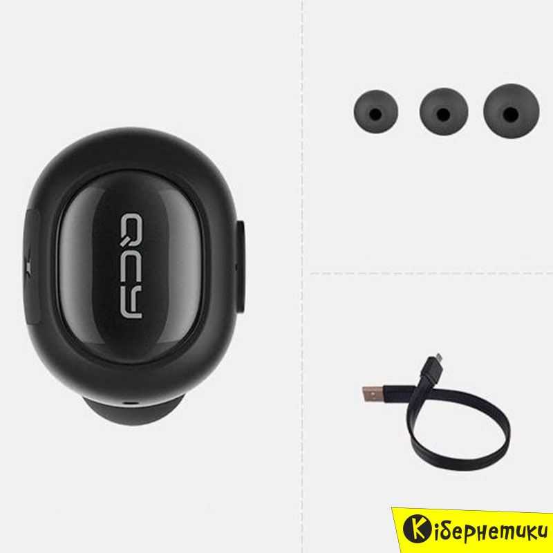 Bluetooth headset QCY Q26 Black